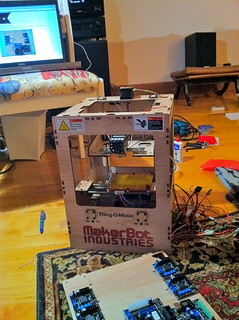 Makerbot I built last Christmas vacation