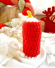 Christmas candle (Frolicking~ Freckles) Tags: christmas saint gingerbread traditions gingerbreadhouse stlucia christmasdecor gingerbreadman stlucy saintlucia saintlucy stluciaday
