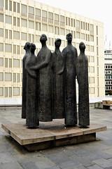 """Heptakord - """"The listening Seven"""" (XavierParis) Tags: sculpture oslo norway norge nikon skulptur escultura noruega xavier xavi hernandez szobor scultura norvège iberica skulptura konserthus d700 řezba szobrászat xavierhernandez johansvendsensplass sochárstvo rzeźbiarstwo xyber75 xavierhernandeziberica"""