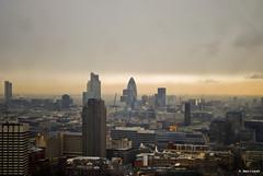London Skyline! (_Amritash_) Tags: travel sky london skyline buildings nikon cityscape view aerialview aerial scape cityview londonskyline travelog december2011 nikond3000 amritash