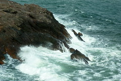 Cuando la Marea Besa las Rocas (Gagaddict.a) Tags: rio mar agua rocas espuma puntadeleste casapueblo