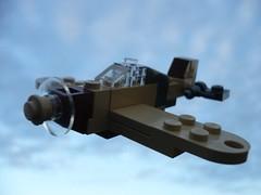 Hawker Hurricane (Rebla) Tags: africa lego hurricane wwii camo micro ww2 hawker