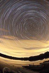 There Wouldn't Be A Sky Full Of Stars If We Were All Meant To Wish On The Same One ([Nocturne]) Tags: nightphotography lake lightpainting clouds stars photo nocturne startrails earthandspace noctography wwwnoctographycouk competition:astrophoto=2013