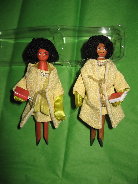 MICHELLE OBAMA Ornament #4 & 5 IMG_1278