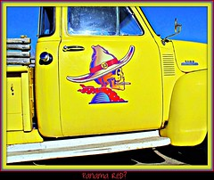 13 (52joan~trying to catch up!) Tags: classic truck dead 420 1950s rocknroll 13 trucking deadhead blinkagain