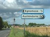 Egnomoss - Auchindorie sign