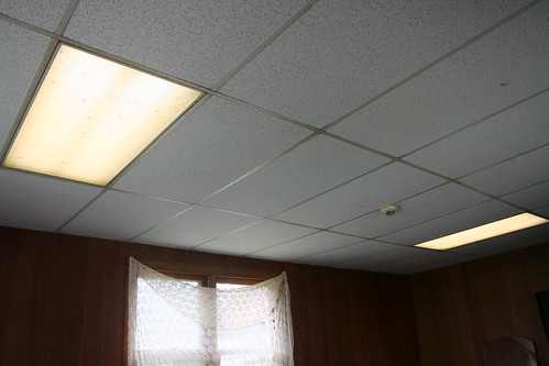 Signs of light in the staff house