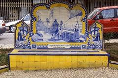 Banco azulejo Calicut (Rafael Jimnez) Tags: portugal 1991 slides azulejo diapositivas calicut aboutiberia