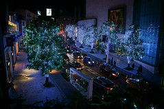 Artelligent Christmas 2011 in Roppongi Hills (GLIDEi7) Tags: street japan night tokyo sony illumination snap  roppongi  nightview roppongihills   keyakizaka    nex      christmasilluminations  snowblue   keyakizakastreet e1855mm e1855mmf3556 nex5n keyakizakaillumination artelligentchristmas2011inroppongihills