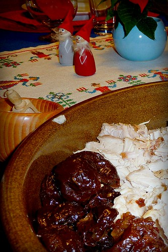 Xmas Pork and prunes