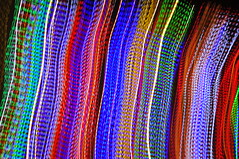 Colored Lights Abstraction - h526 (SouthernBreeze) Tags: christmas travel blue light red usa holiday abstract motion blur color green night season geotagged photography lights photo al nikon photograph abstraction rgb geotag icm cullman 2011 d90 southernbreeze christmastide sooc nikond90 intentionalcameramovement