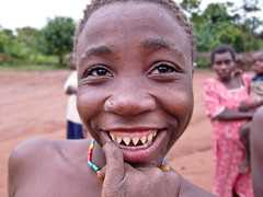 (AfricanButterfly) Tags: teeth filing pointed pygmee