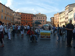 (blurray) Tags: roma piazza navona