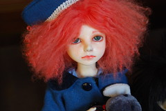 Ginger Girl (Purple  Enma) Tags: up spain dolls pd bjd meet riz mirta isy balljointed mombi planetdoll