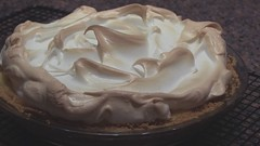 Flight Over Mount Meringue (madlyinlovewithlife) Tags: pie dessert fun video cream aerialview humour homemade vanilla custard flapper meringue vanillacream vanillacustard vanillacreampie meringuetopping flapperpie vanillacustardpie meringueswirls