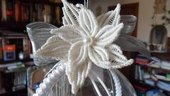 fiore di natale margarete (patty macram) Tags: bijoux creazioni macrame accessori margarete macram margaretenspitze