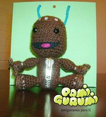 sackboy2 (pamigurumi) Tags: handmade crochet hilo amigurumi monos tejidos hechoamano amigurumis meecos sackboy