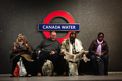 Canada Water (v.ince) Tags: street canada london water overground