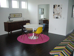 DIY, Cutting a round rug from Flor carpet tiles (plastolux) Tags: carpet diy flor tiles round cutting rug