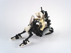Lynx Snowmobile (_zenn) Tags: lego scifi motorcycle lynx snowmobile moc zenn