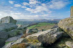 Another view from Over Owler Tor (Dave Button) Tags: landscape view district peakdistrict over peak surprise tor owler