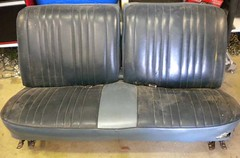"""1965 Parisienne seats Done by Stylin Stitches • <a style=""""font-size:0.8em;"""" href=""""http://www.flickr.com/photos/85572005@N00/6630510415/"""" target=""""_blank"""">View on Flickr</a>"""