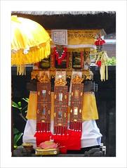 Decorations . (Franc Le Blanc .) Tags: decorations bali lumix ceremony panasonic hindu kuta agama