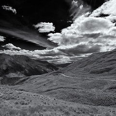 Day 241 // The Road To Queenstown {Explored January 5, 2012} (Marshall Ward) Tags: road mono southisland queenstown wanaka nikond7000 marshallward afsdxnikkor1024mmf3545gednewzealand