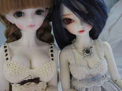 HollyRenee2 - Bust Comparsion 1 (Onizel) Tags: bjd comparison msd yingying minifee minifeeryeon ryeon loongsoulyingying
