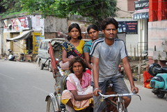 India - People (cpcmollet) Tags: street travel portrait people india cares women asia faces gente candid varanasi caras rickshaw gent