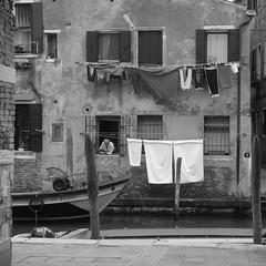 Laundry ..... Venetian style