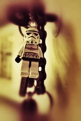 These aren't the keys you're looking for.... (Phil Steere) Tags: sepia keys star starwars key lego ring figure stormtrooper wars keying