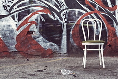 chair (cyan79) Tags: california ca cali 50mm graffiti la losangeles pain chair nikon tag graff f18 dslr afd d40 califas