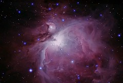 M 42 The Orion Nebula (Chuck Manges) Tags: sky night canon stars space cluster deep telescope galaxy nebula astrophotography orion astronomy dslr deepspace meade Astrometrydotnet:status=solved Astrometrydotnet:version=14400 Astrometrydotnet:id=alpha20120189794011