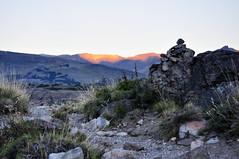 Ultimas horas de sol en la montaa (juannypg) Tags: sunset patagonia santacruz sol argentina trekking atardecer andes sur soledad rocas cordillera montaas piedras austral elchaltn