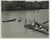 1956 boathouse dock lake