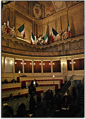 L'aula del Senato - Palazzo Madama - Torino (_Enza_2009) Tags: torino museo aula palazzomadama senato