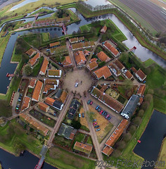 Vesting Bourtange, Netherlands [explored] (KAPturer) Tags: kite holland netherlands dutch fort nederland aerial fromabove kap groningen birdseyeview kiteaerialphotography luchtfoto vanboven vlieger bourtange westerwolde boertange vlagtwedde vliegerfoto kapturer itwlevitation jipsing