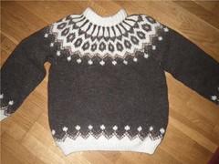Icelandic sweater lopapeysa (Mytwist) Tags: wool sweater jumper icelandic oke lopapeysa