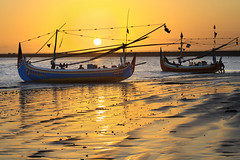 Sunset at the fisherman village of Kedonganan, Bali - Indonesia (Pandu Adnyana (thanks for 100K views)) Tags: sunset beach sailing sailor hdr kedonganan