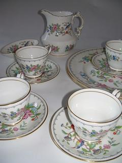 Tea set Aynsley Pembrooke