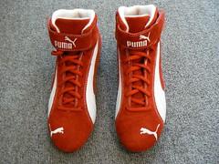 9a6b7412ea63e7 20111018 Puma Race Cat Mid III (halfbyteproductions) Tags  red last race cat  shoes