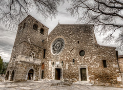 San Giusto (Trieste) (Fil.ippo) Tags: san cathedral sigma chiesa 1020 hdr filippo trieste cattedrale trst giusto d5000 saintjustus