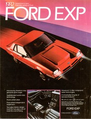 1982 Ford EXP (USA)