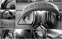 Beats by Dr. Dre (Seekay Photography) Tags: music white black beautiful collage wire bass dr awesome pros headphones sick loud dre headsets drdre carlonkurbel