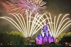Magic Kingdom (wdwSteve) Tags: world christmas nikon fireworks magic sigma kingdom disney explore f28 d90 1750mm