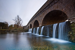 4 Minutes at 5 Arches (Olly Plumstead) Tags: uk bridge london canon landscape evening waterfall kent long exposure 5 five 4 sigma arches le olly filters 1020 minutes brickwork cray foots sidcup plumstead 450d footscraylondonollyplumsteadcanon450dsigma1020hitechgndlongexposurelandscape5arches1treeefive