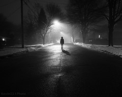 DAY 23/366 - Foggy Wet Day (KevinElevinPhotography) Tags: street boy white black art film kids canon photography kid sigma silo artsy killer 1020mm