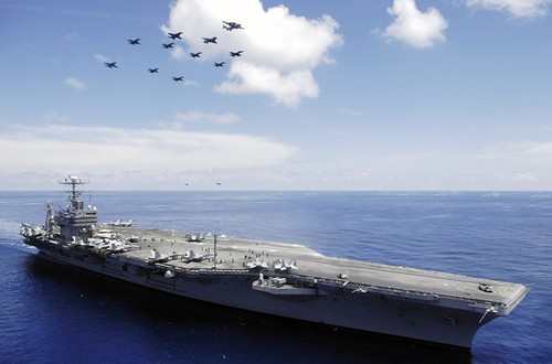 USS Abraham Lincoln by Jordon R. Beesley Public Domain
