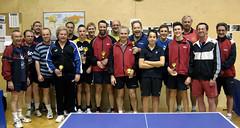 Gruppenfoto nach der Doppel-Meisterschaft